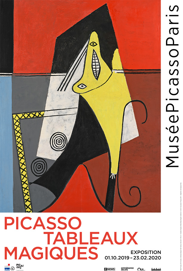 Picasso. Magic paintings exhibition poster