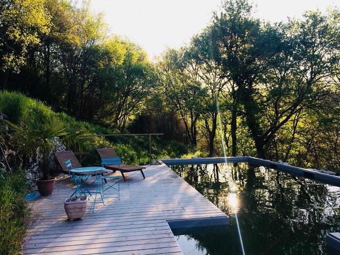 Happy hamlet swimming pool