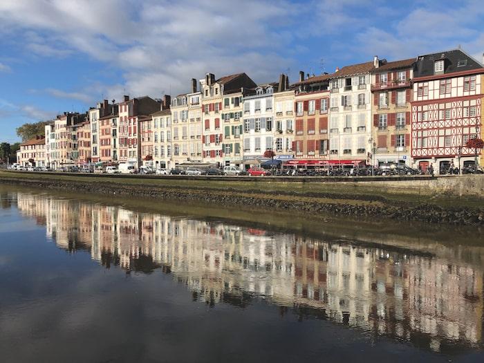 Nive quayside, Bayonne