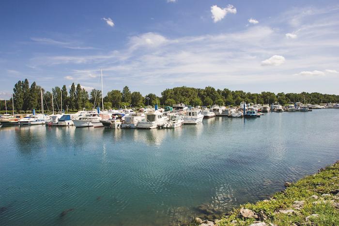 Rhône marina