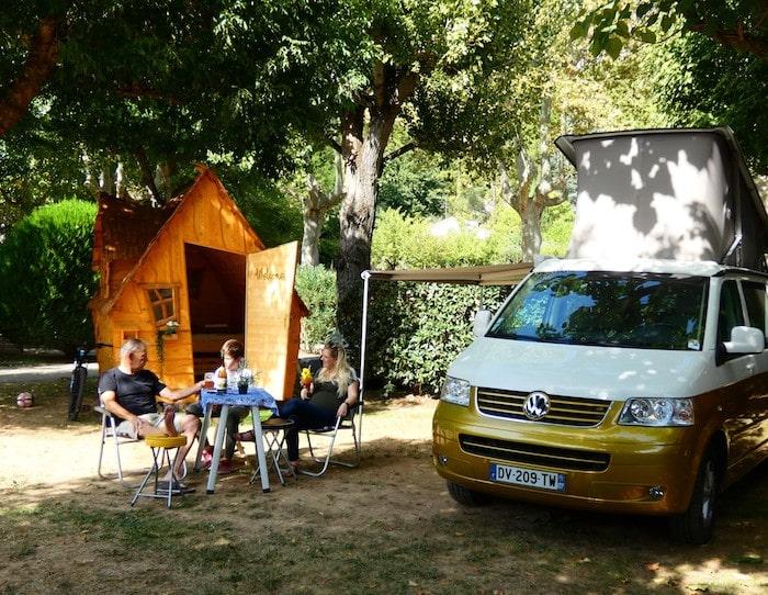 Camping l'Ardéchois Castelette.