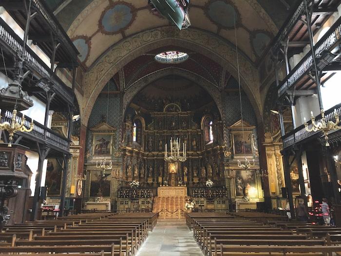 Eglise, church, Saint-Jean-de-Luz