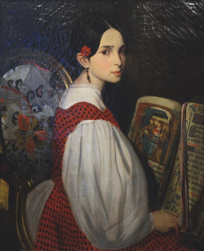 Victor Hugo's daughter, Léopoldine
