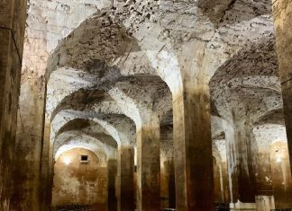 Vaults in citerne