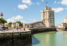 Vieux Port De La Rochelle Côté Ville