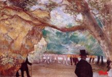 Edgar Degas, The Curtain