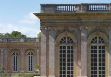 Trianon AND THE QUEEN'S HAMLET AT VERSAILLES by Jacques Moulin,