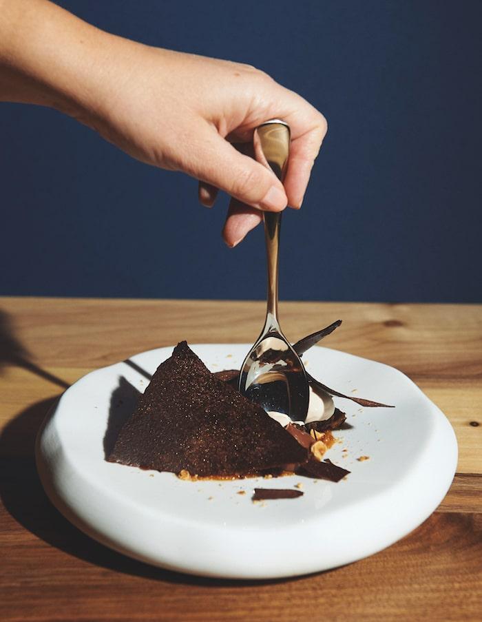 Origines, Paris, Chocolate praline miso