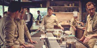 Pavyllon, Paris sushi restuarant