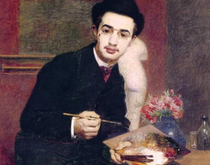 Portrait of Toulouse-Lautrec by Henri Rachou, Musée des Augustins, Toulouse
