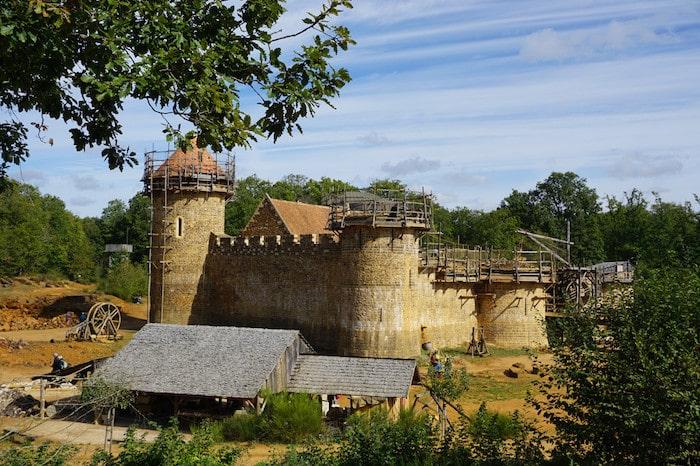 Guédelon's impressive reconstructed medieval castle