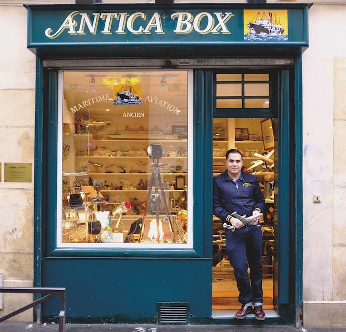 Antica Box, Rue de la Villette
