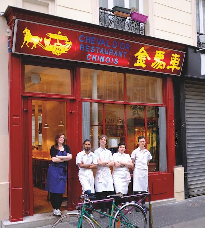 Cheval d'Or, Rue de la Villette