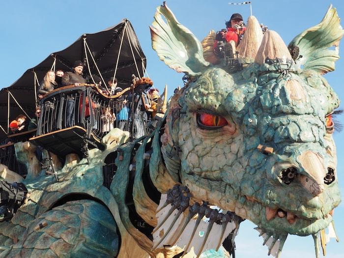 Dragon Calais_Office de Tourisme Calais Cote d'Opale