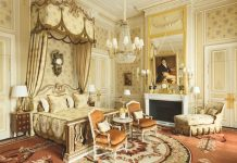 The imperial suite at the Ritz, Paris
