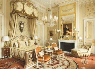 The imperial suite at the Ritz, Paris