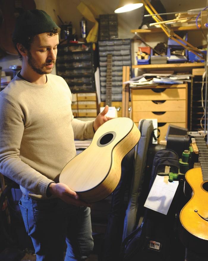 Luthier Jérôme Lair