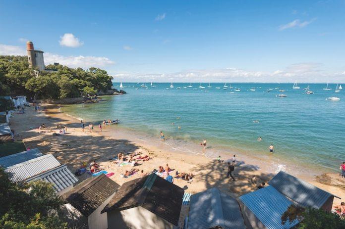 The tidal island of Noirmoutier