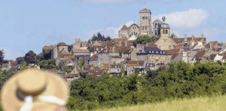 The hilltop 'Plus Beau Village' of Vézelay