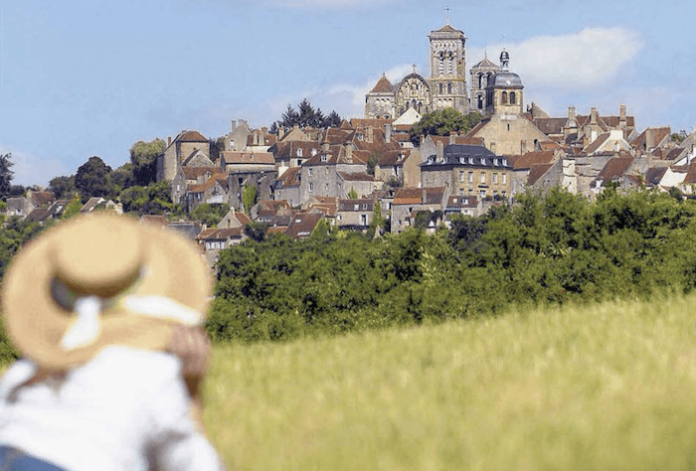 The hilltop 'Plus Beau Village' of Vézelay