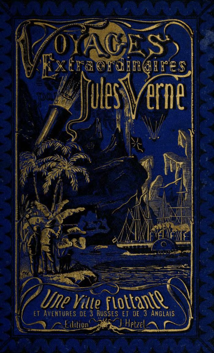 Voyages Extraordinaires series, Jules Verne