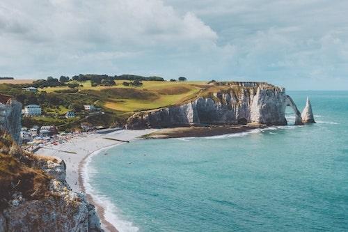 Étretat, France. Normandy