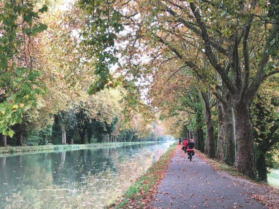 Canal de Garonne near Moissac