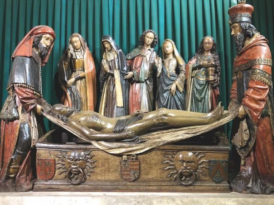 Burial of Christ in the Abbaye Saint-Pierre
