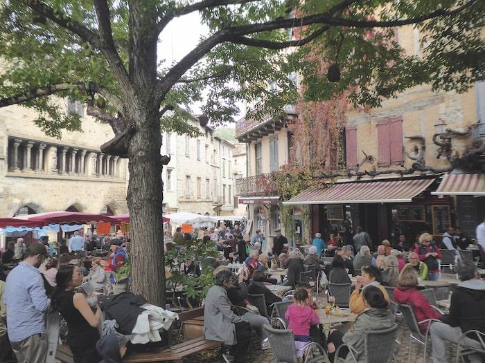 Market Saint Antonin Noble Val