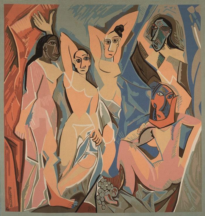 Jacqueline Dürrbach, after Pablo Picasso Les Demoiselles d'Avignon.