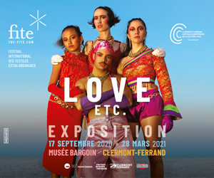"Exhibition: Love, Etc. – International Festival Of ""Extra Ordinary"" Textiles (FITE)"