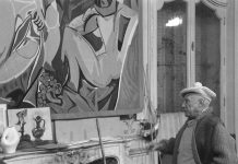 Pablo Picasso in 'La Californie'