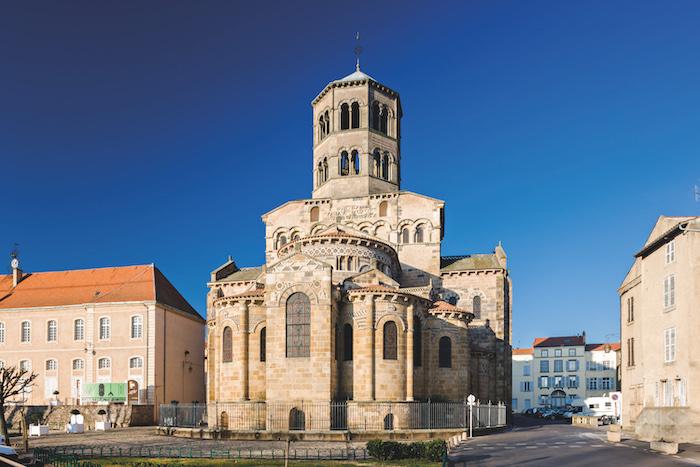 The Abbatiale Saint-Austremoin, Auvergne