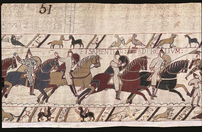 Tapisserie de Bayeux ©Bayeux Museum