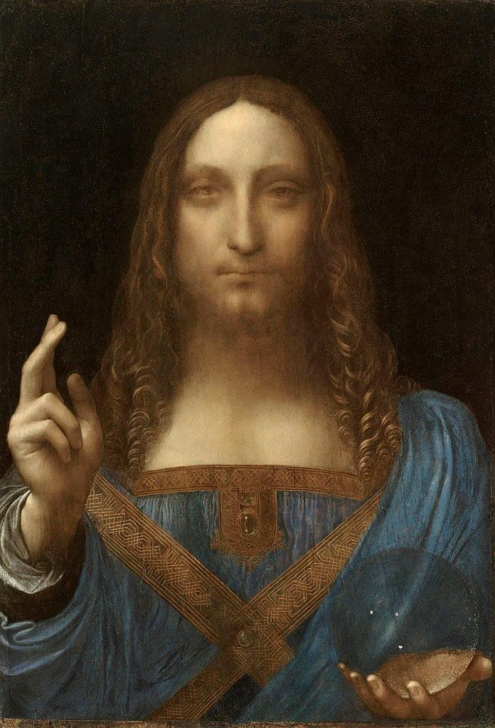 Salvator Mundi after restoration
