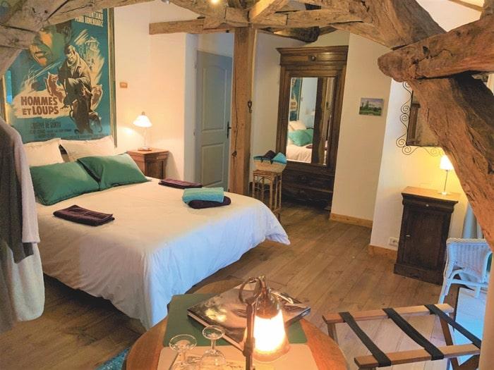 Room at Ferme de Tayac