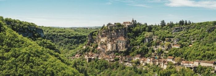 Rocamadour Dordogne Valley