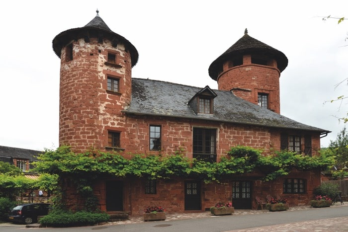 Correze is home to ancient architecture and turrets aplenty.