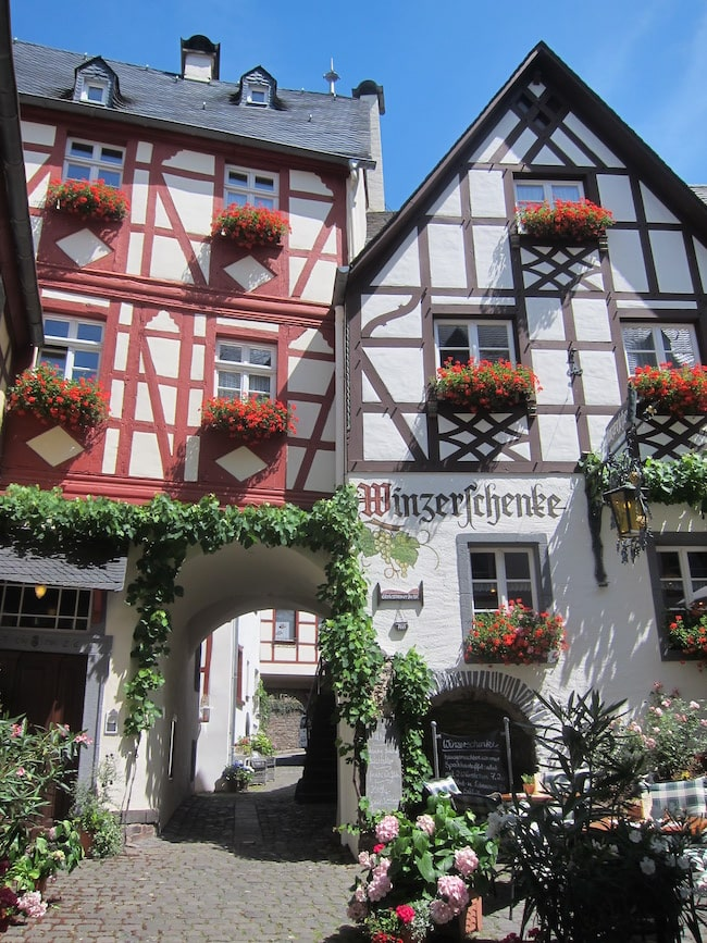 Germany, Luxembourg and France: Cycling and Barging on the Moselle River