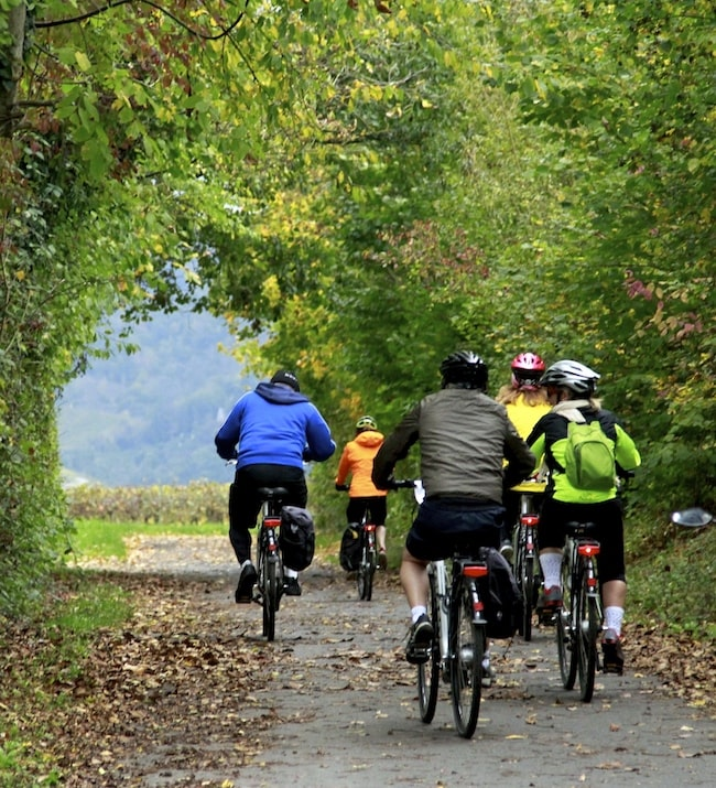 Group cycling in France