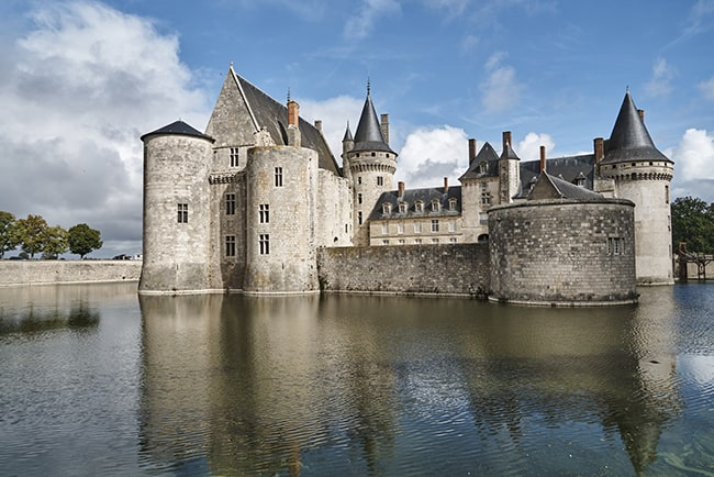 Château de Sully-sur-Loire with its imposing medieval architecture and conical roofs. Photo: Dawn Dailey