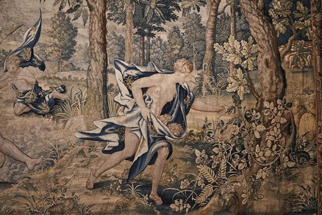 These tapestries detailed the story of Psyche are the early 17th century.