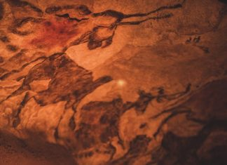 20,000 Year Old Cave in The Dordogne Valley