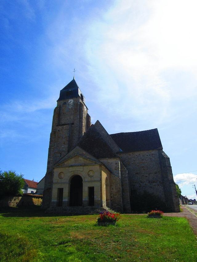 Historic buildings in Burgundy