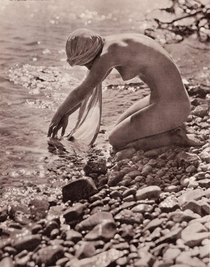 Lois at Cap d'Antibes 1924