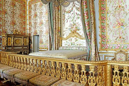 Marie Antoinette bedroom.