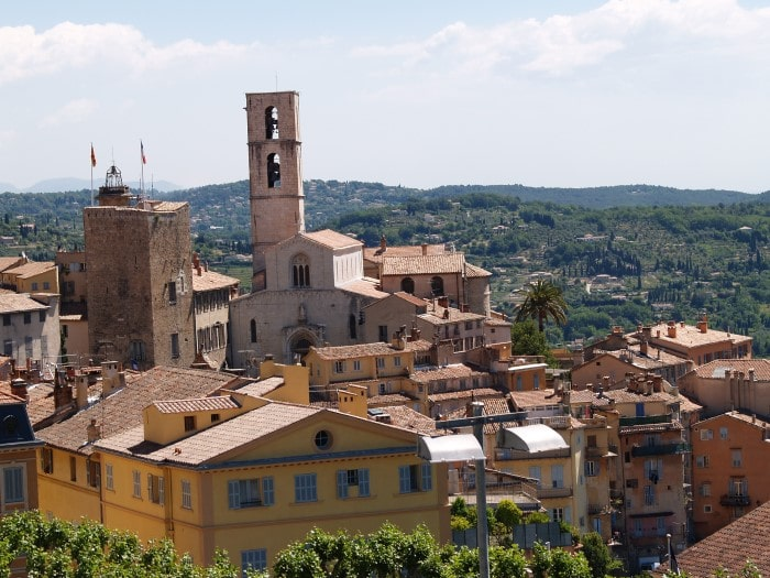 The town of Grasse