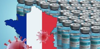 Vaccinations in France.