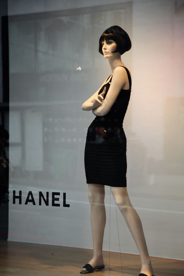 Chanel's Timeless Little Black Dress Modeled, 2011
