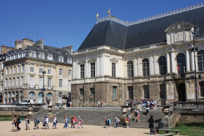 Rennes Parliament building